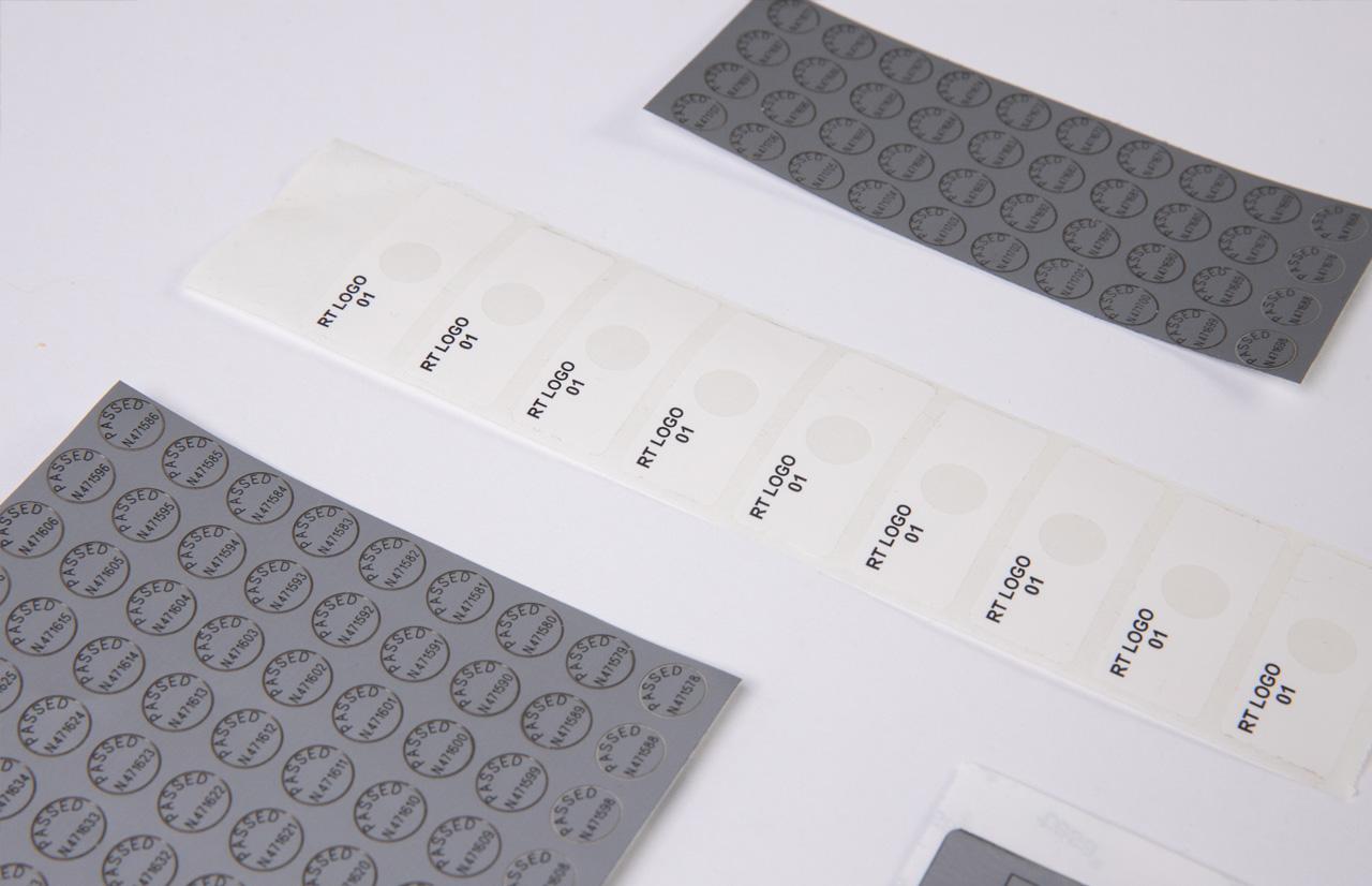 etichette laser